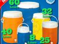 ترموس یخدان پلاستیکی البرز